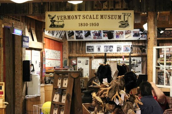 Scale Museum, Apparel, Vermont Country Store, Oct 2013
