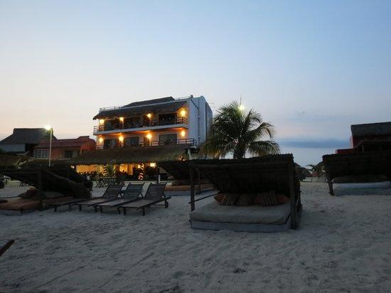 Koox Quinto Sole Boutique Hotel: Desde la playa