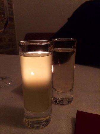 Pieter Pourbus : Limoncello after dinner. Yum!!