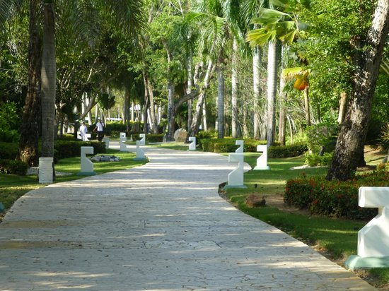 The Reserve at Paradisus Punta Cana: One of the Walks in the Reserve