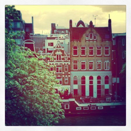 Amsterdam House Hotel: view from room on 4th floor