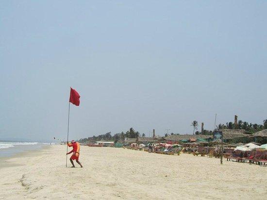 Benaulim Beach: plage avril