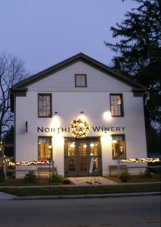 Milton, WI: Winery at dusk