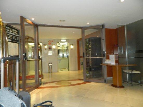 Hotel Rialto : Ascensores