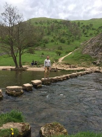 Dovedale: no queue at the stepping stones