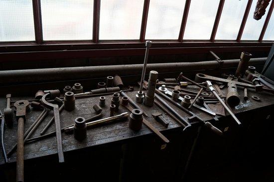 Zeche Zollverein Essen: Outils de grossse mécanique
