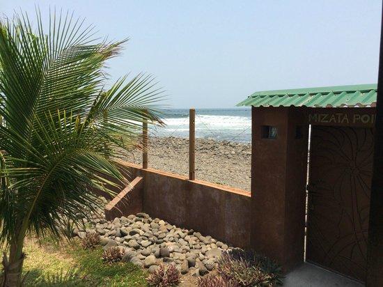 Mizata Point Resort : View from porch