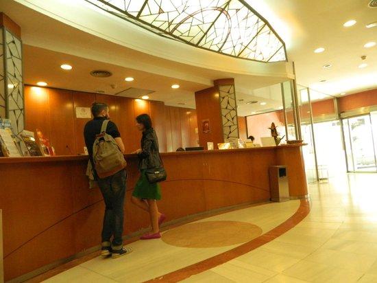 Hotel Rialto : Recepción