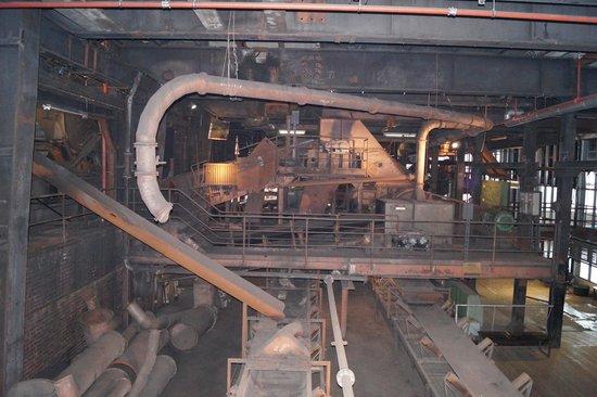 Zeche Zollverein Essen: Machinerie
