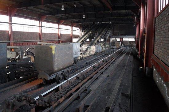 Zeche Zollverein Essen: Guidage du charbon
