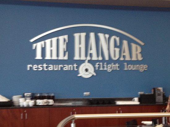 The Hangar Restaurant & Flight Lounge: Sign
