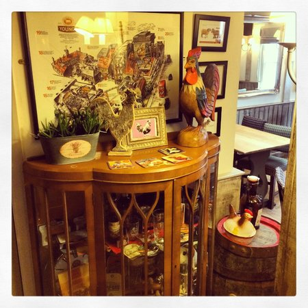 The Old House: Young's cabinet