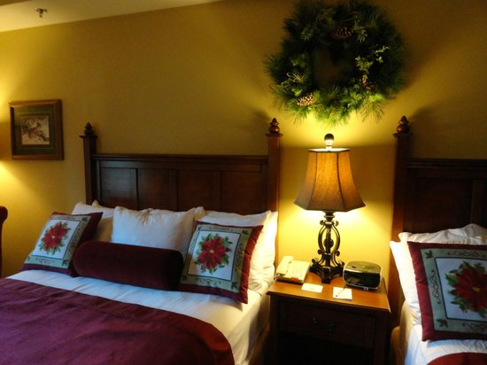 The Inn at Christmas Place: Bed
