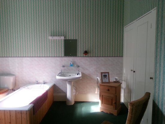 The Hayes: massive bathroom