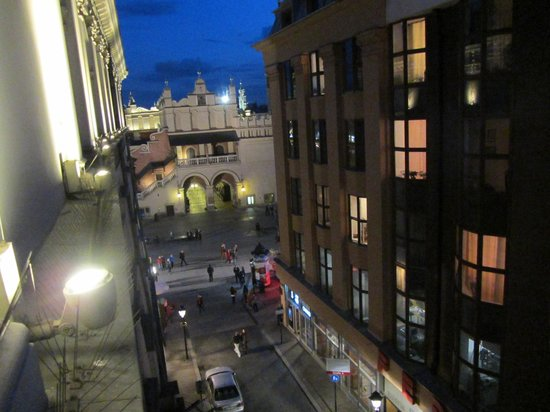 The Bonerowski Palace: View from hotel room