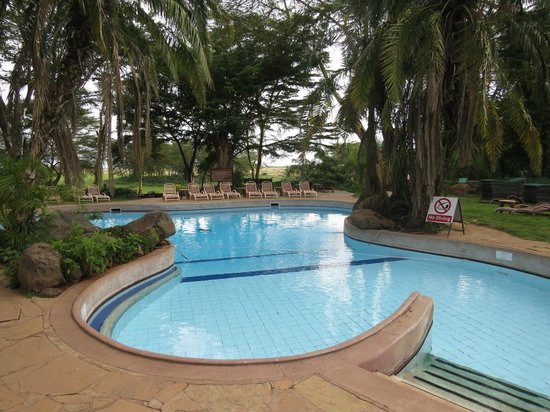 Amboseli Serena Safari Lodge: Pool
