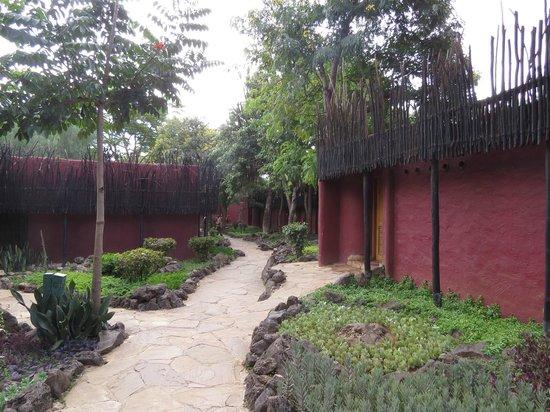 Amboseli Serena Safari Lodge: On your way to the room