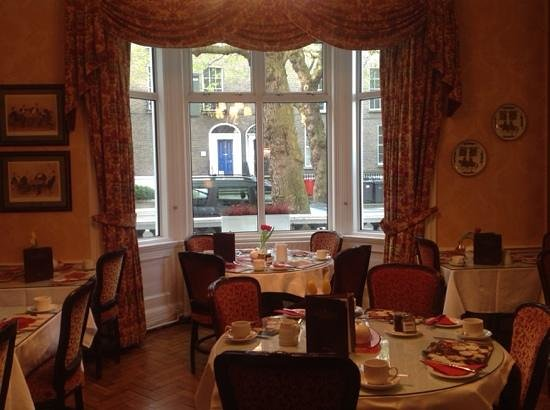 Kilronan House: la sala colazione
