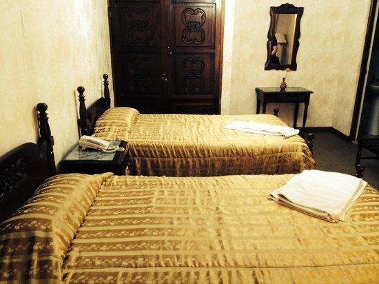 Hostal Sucre: The beds