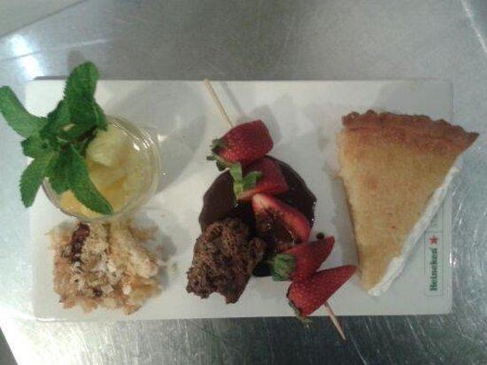 La Table à Deniz : Menu découverte desserts