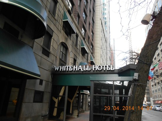 The Whitehall Hotel : Street entrance