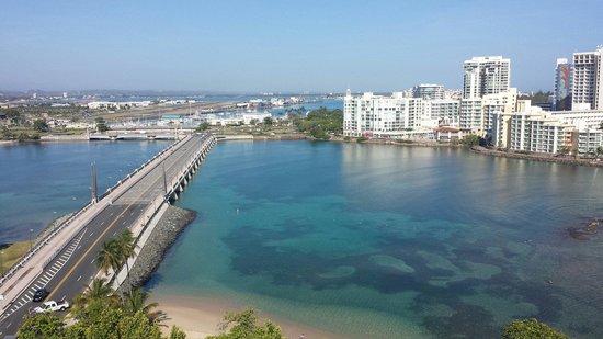 The Condado Plaza Hilton: View to the beach