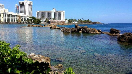 """The Condado Plaza Hilton: View to """"La piedra del Perro"""""""