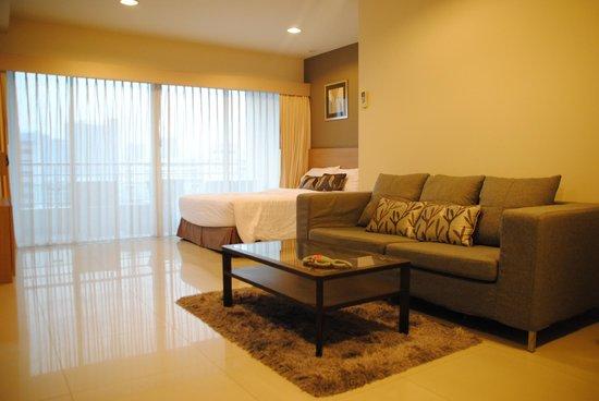 Viva Garden Serviced Residence: Hotel room