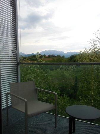 Quality Hotel San Martino: balcone