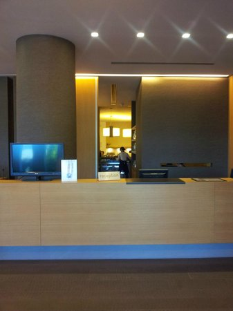 Quality Hotel San Martino: reception