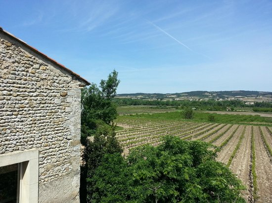 L'Ecole Buissonniere Provence : View from room