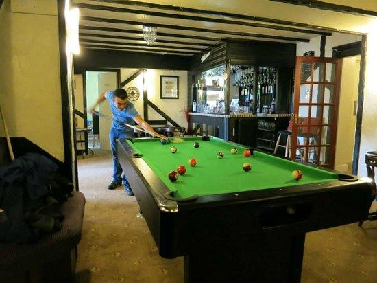 The Cimon: Pool table area/Bar