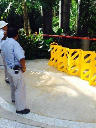 The Grand Mayan Riviera Maya: Area bloqueada te das cuenta hasta que llegas