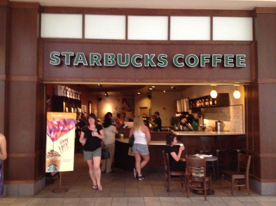 Starbucks In Tyrone Mall Picture Of Starbucks St Petersburg