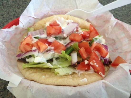 Chicago Grill Lake Havasu City: Veggie gyro. Delicious!!!