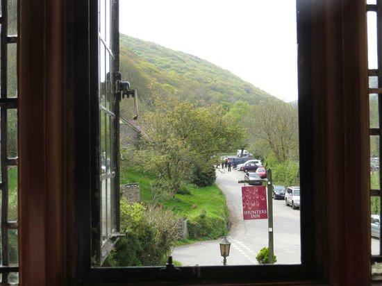 The Hunters Inn: View from bedroom