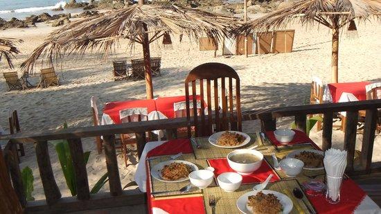 Angel Seafood Restaurant : Shan Nudeln