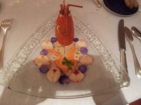Magescq, France: Le homard, sans chichi et très goûteux