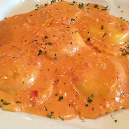 Sole Italian Restaurant : Lobster ravioli