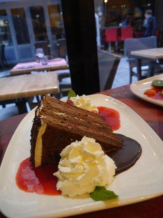 Timothy: framboisier chocolat