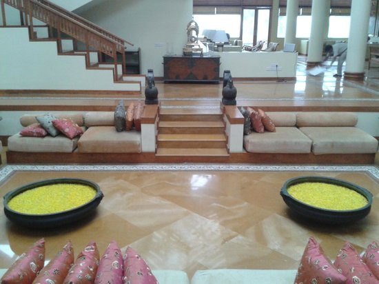 The Leela Kovalam Beach: reception