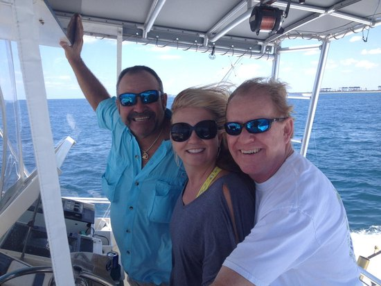 Hooked Up Sportfishing Charters: 1st Deep Sea Fishing Trip