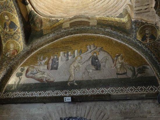 Museum Chora-Kirche: En route vers Bethléem, tympan du nartex