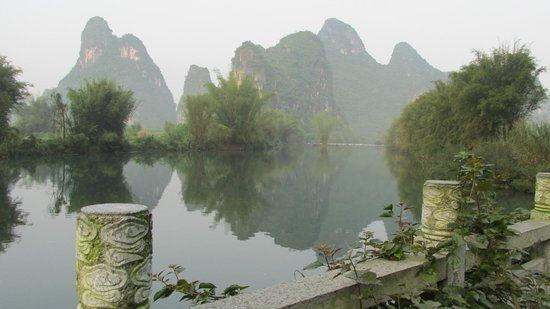 Yangshuo Mountain Retreat : View from the hotel terrace!