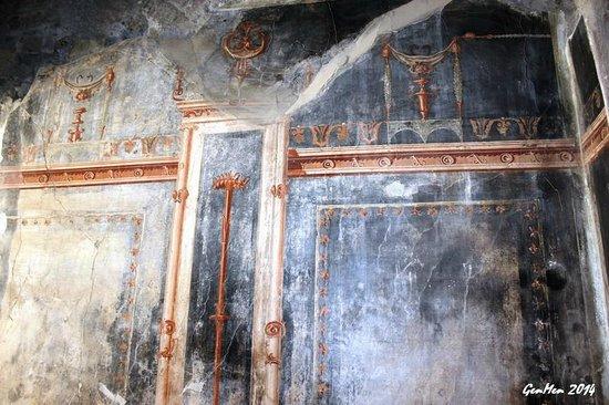 Ruins of Herculaneum : Un affresco incantevole