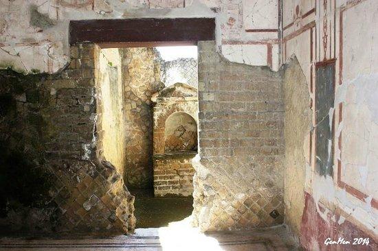 Ruins of Herculaneum : Interni