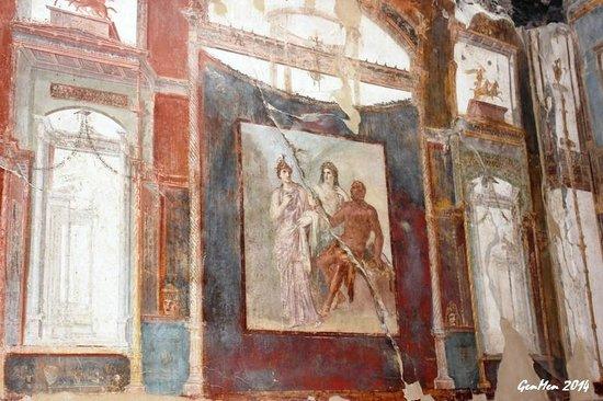 Ruins of Herculaneum: Collegio degli Augustali