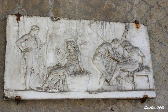 Ruins of Herculaneum : Nella casa di Telefo