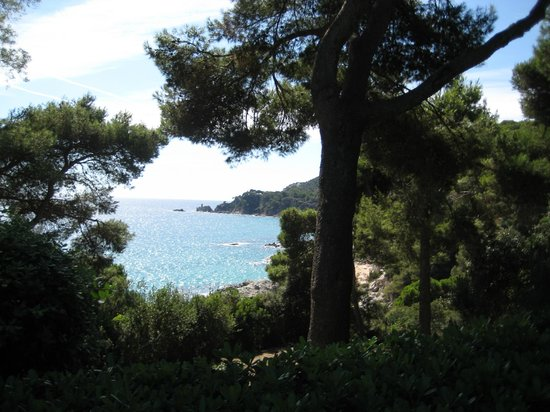 Jardin Santa Clotilde : Бирюзовое море