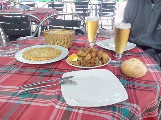 Bar Conchita : la tortilla et les calamars